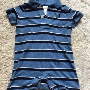 Striped Ralph Lauren one piece